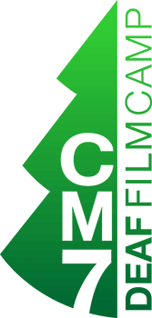 A CM7 Deaf Film Camp logo